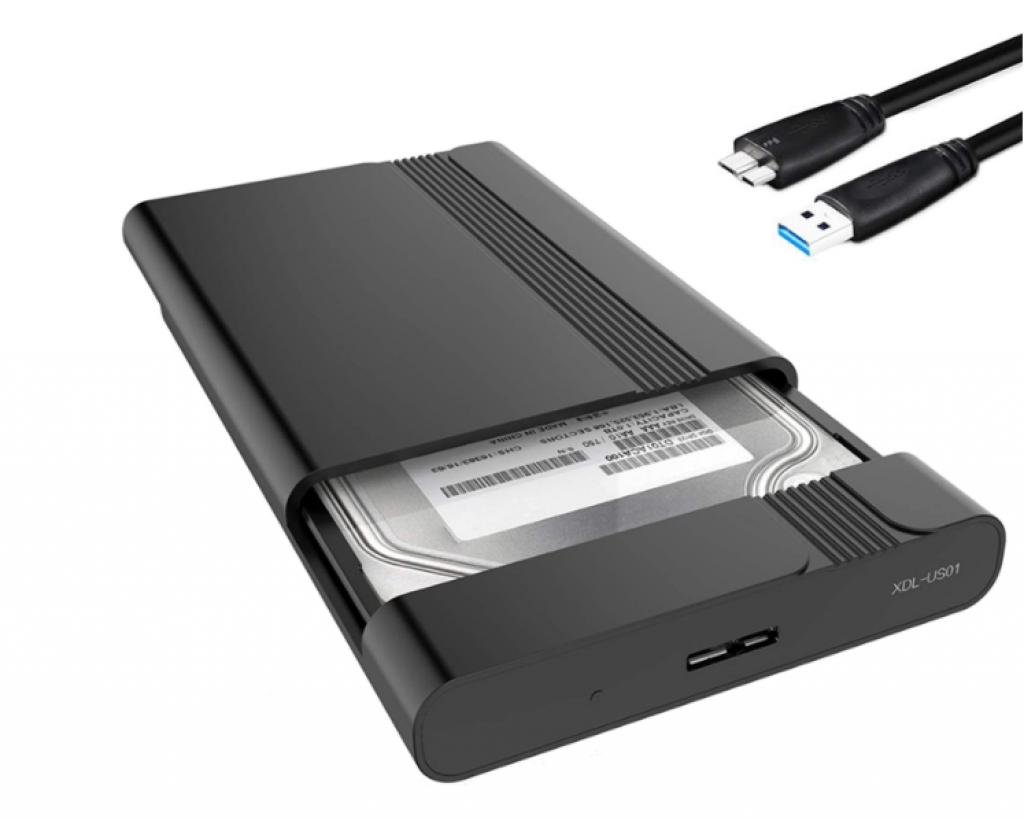 Boitier disque externe Format 2,,5 pouces USB, SATA